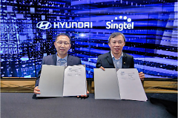 .Hyundai auto group forges partnership with Singapores Singtel.