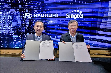 Hyundai auto group forges partnership with Singapores Singtel