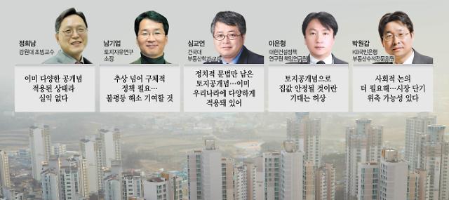 """""""토지공개념, 사회적 논의 더 필요"""" vs """"시장 정상화 가능해질 것"""""""