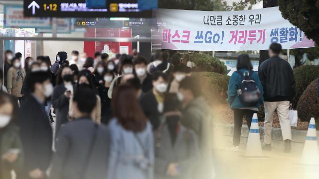 韩再延现行防疫响应措施两周 加强版防疫守则出台