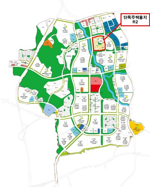 LH, 양주 옥정신도시 주거전용 단독주택용지 공급…4월19일 신청