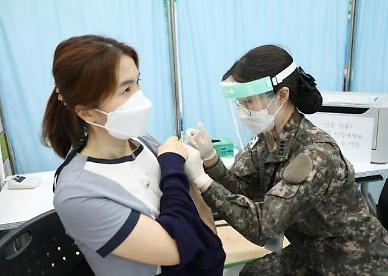 軍 병원 2333명 의료진 코로나19 백신 접종 완료