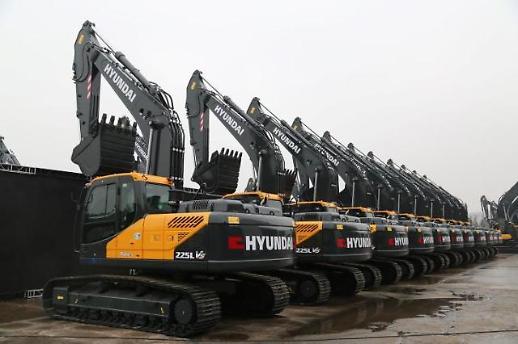 现代建设机械接到中方大单 金额创进军中国市场后最大规模