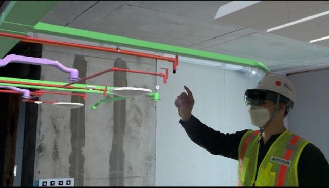 현대건설, 증강현실(AR) 기법 도입으로 품질 혁신한다