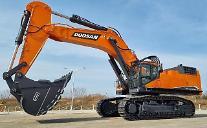斗山インフラコア、「超大型100トン級の掘削機」グローバル同時発売