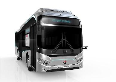 ​KT to test 5G-connected cooperative autonomous electric buses in suburban smart city