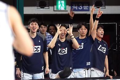 KCC, 5년만에 정규리그 우승 확정… 통산 5번째