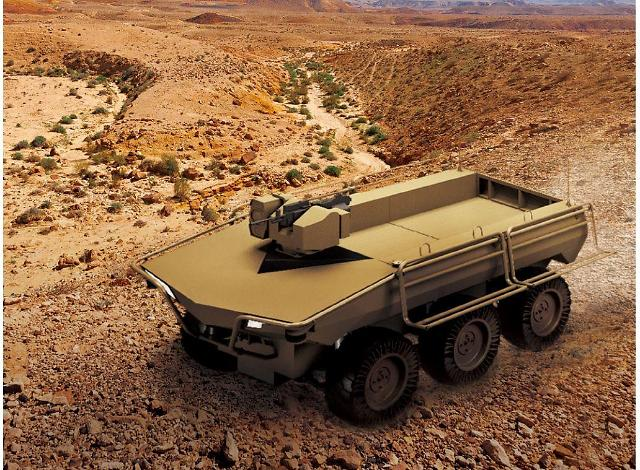 Hanwha Defense upgrades multi-purpose unmanned ground vehicle for overseas sales