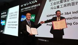 .Doosan Heavy wins deal to supply seismic instrumentation for Chinese nuke power plant.