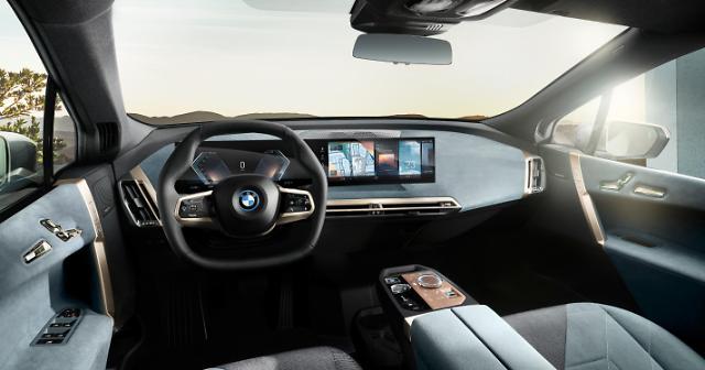 "BMW, 8세대 아이드라이브 공개…""계기판·컨트롤 디스플레이 통합"""