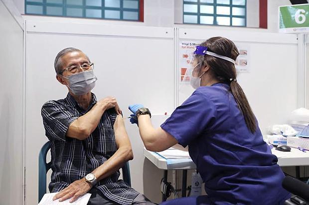 [NNA] 싱가포르, 주민 17%가 첫 번째 백신 접종 마쳐