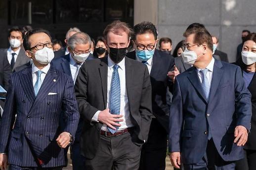 韩美日国安首长发布联合声明 重申合作应对朝核问题