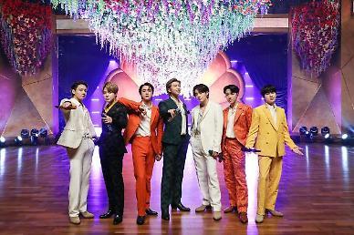 방탄소년단, 日 신곡 필름 아웃 오리콘 차트 정상
