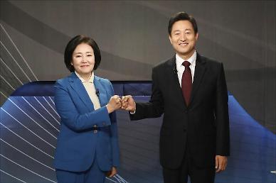 [4·7 재보선] 박영선 당장 대질신문을 하라 vs 오세훈 선거에서 그걸 왜 하냐