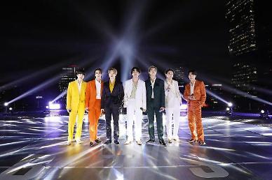방탄소년단, 日 신곡 필름 아웃…오리콘 차트 3일 연속 정상