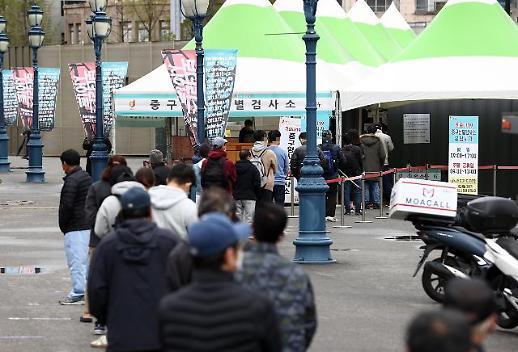 韩国新增478例新冠确诊病例 累计106230例