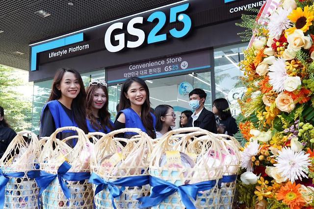 韩国连锁品牌知多少 GS25便利店销售夺冠