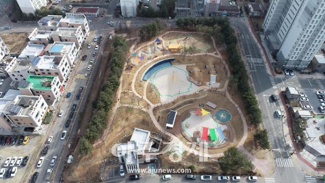 춘천 최초 어린이 모험놀이터 잼잼 놀이터 오는 17일 개장··· 어린이가 직접 참여해 기획