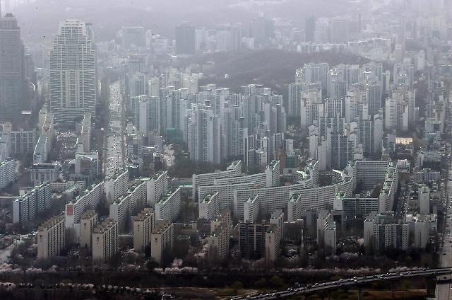 统计:首尔公寓平均交易价8个月间上涨1.5亿韩元