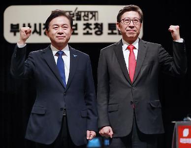 [속보] 4·7 재보선 출구조사, 부산시장 박형준 64% 김영춘 33%