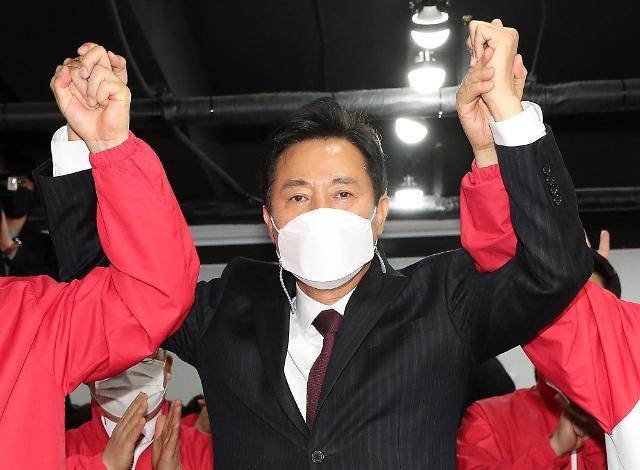 <简讯>首尔釜山市长补缺选举出口调查:在野党候选人占优