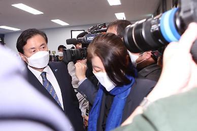 [4·7 재보선] 출구조사 결과 31% 격차···김영춘 후보, 말없이 퇴장
