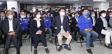 [4·7 재보선] 여당, 서울·부산시장 출구조사 참패에 침묵만 흘렀다