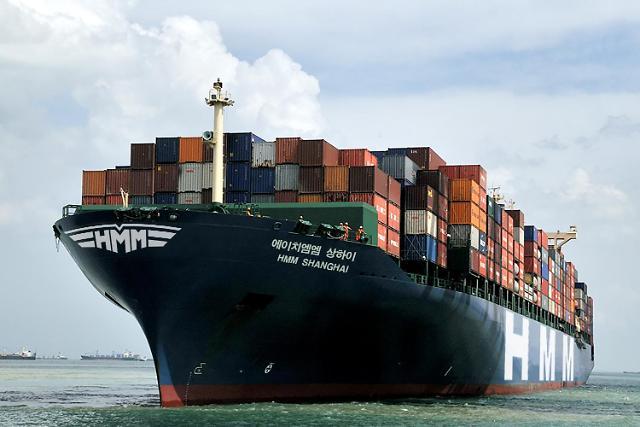 HMM, 임시선박 3척 추가 투입...국내기업 수출 지원