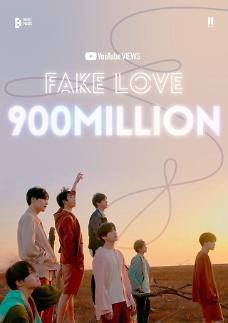 《Fake Love》成为第四支BTS播放量过9亿MV