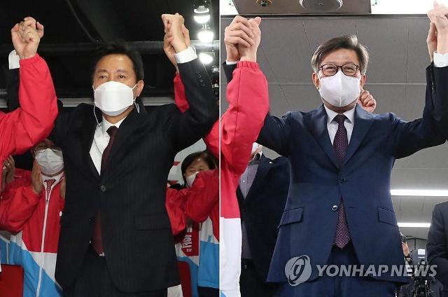 대일고-고려대 동문, 오세훈-박형준 나란히 서울·부산시장 당선
