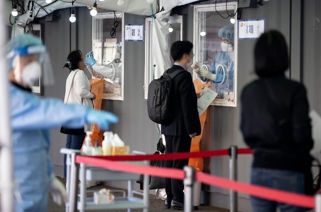 韩国新增671例新冠确诊病例 累计108269例