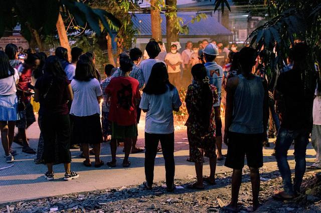 [NNA] 미얀마 군부, 미국문화원 총격 혐의 30대 男 체포