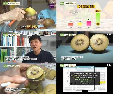 """SBS 생방송투데이, 봄철 활력 충전법 소개...""""하루 2알 썬골드키위 섭취"""""""