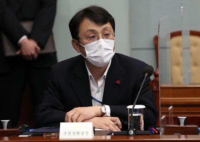 靑, 이진석 실장 기소에 코로나 대응 중…유감