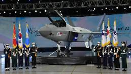 .[FOCUS] President Moon hails rollout of home-made fighter jet as historic milestone.