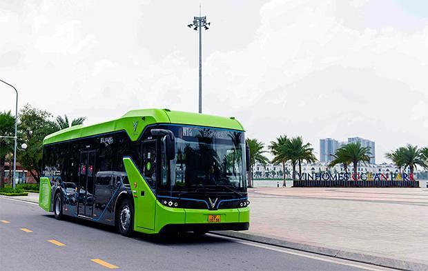 [NNA] 빈그룹의 전동버스, 하노이에서 운행 개시