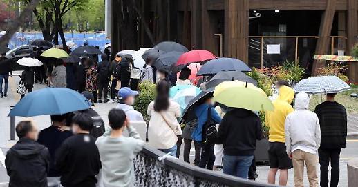 韩国新增542例新冠确诊病例 累计110688例
