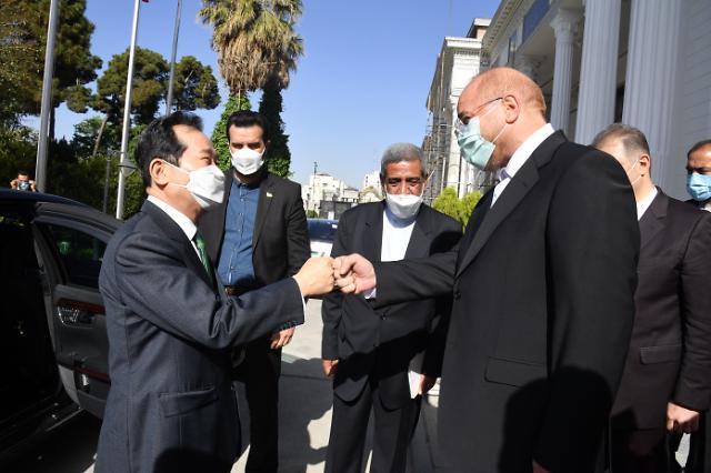 이란 방문 마친 정세균 총리, 귀국...이른 시일 내 사의 표명