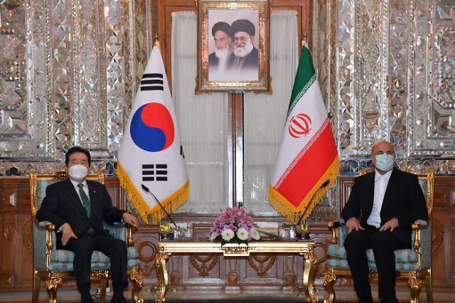 [종합] 정 총리, 이란 방문 마치고 귀국...조만간 대권 출사표