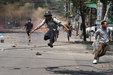 [아주 돋보기] 시신 1구당 10만원…미얀마 군부 돈벌이가 된 시위대