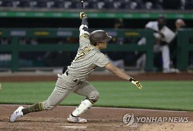 김하성, 두 경기 만에 다시 안타···팀은 4연승 행진