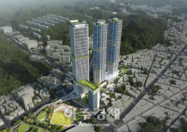 포항시 '옛 포항역지구'에 69층 랜드마크 건설···공모에 신세계건설 컨소시엄 '낙점'