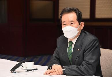 정 총리, 日 후쿠시마 해양방류 결정에 또 다른 역사적 과오