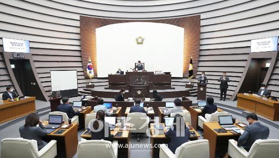 광주시의회, 제285회 임시회 개회···총 12건 안건 심의·의결