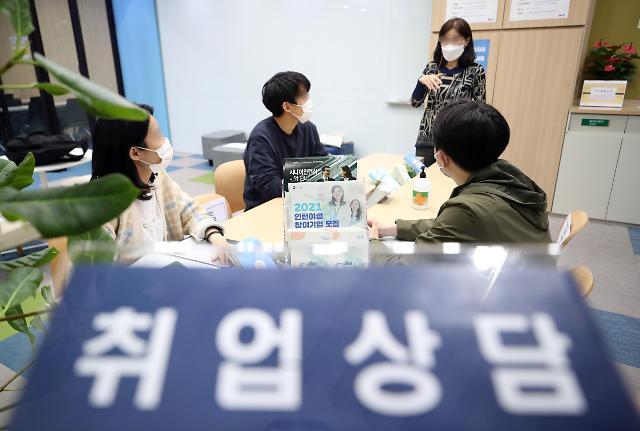韩国3月就业人口同比增31.4万人 一年来首度实现正增长