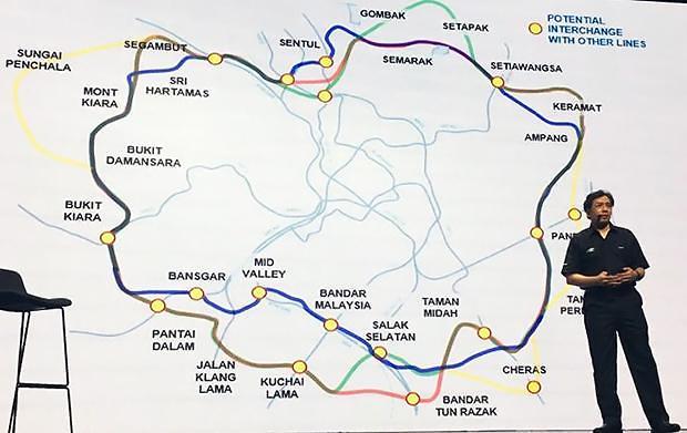 [NNA] 말레이시아 MRT 3호선, 이르면 8월 입찰
