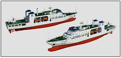 어업지도선 친환경 LNG연료 추진방식 설계…2024년 2척 완성