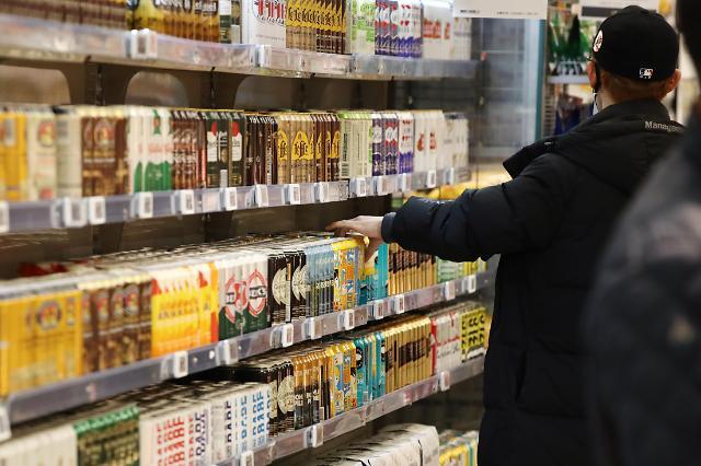 疫情下举杯难 韩酒类厂商遭遇业绩低谷