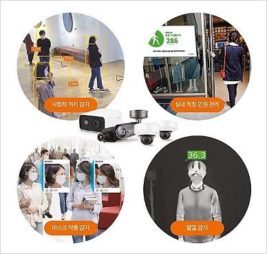 Hanwha Techwin to release camera-based solution with anti-COVID-19 functions