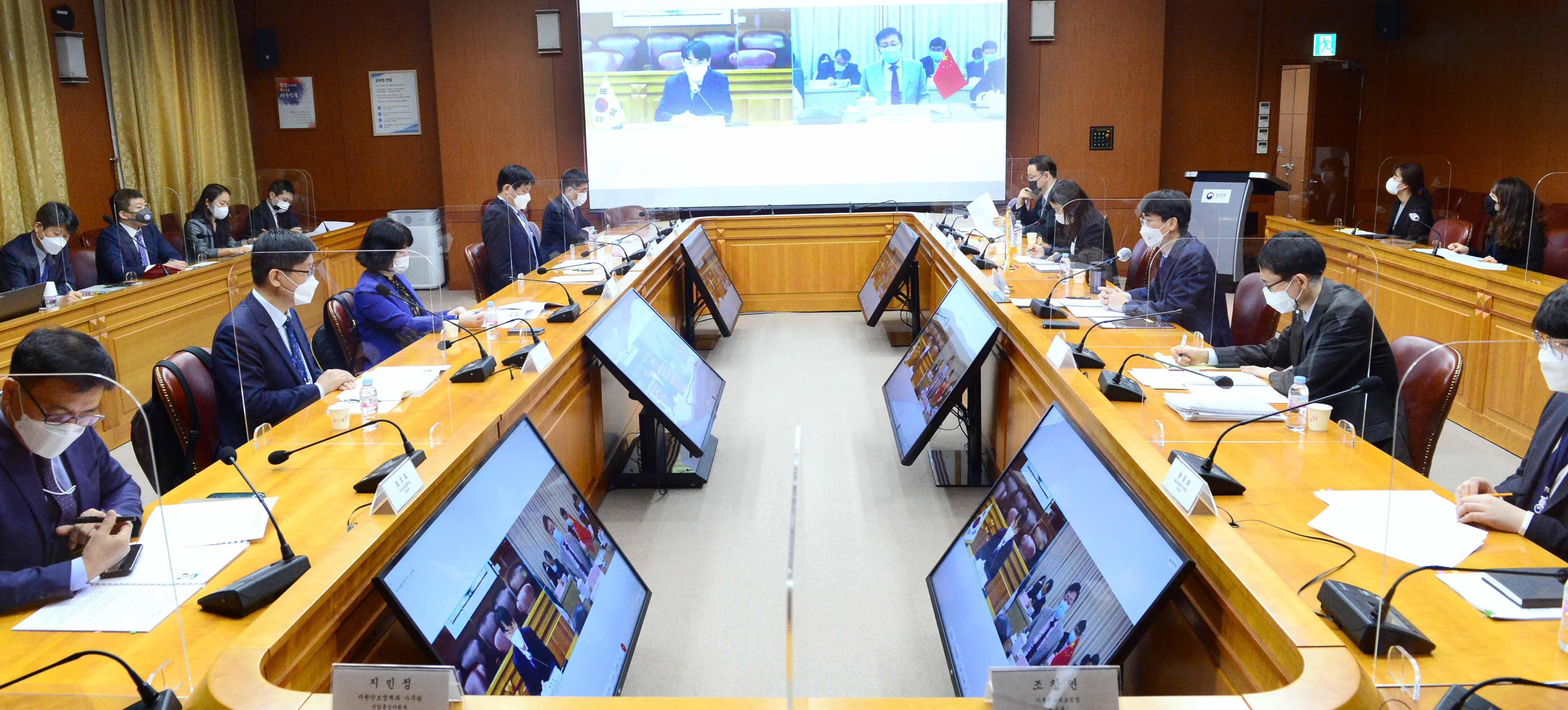 中韩举行海洋事务对话合作机制首次会议